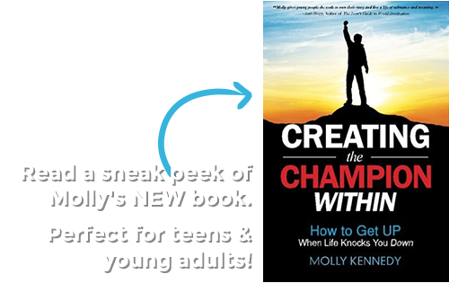 Read a sneak peek of Molly's NEW book.